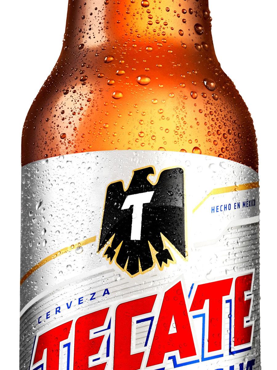 Tecate Light Bottle