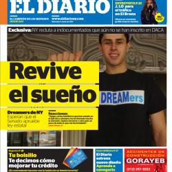 El Diario redesign
