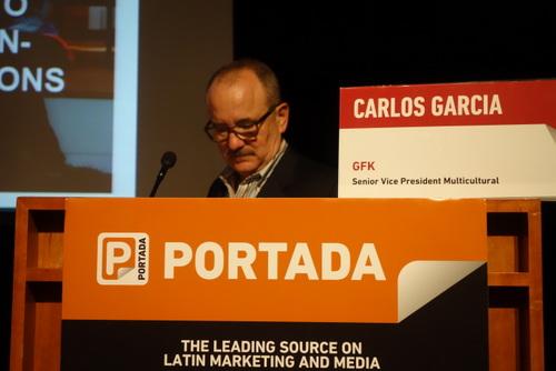 Carlos Garcia, SVP Multicultural, GFK