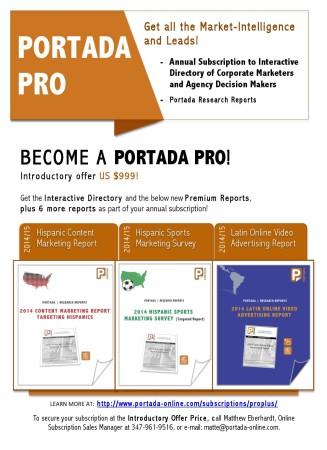 Become  PORTADA PRO