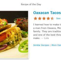 allrecipes tacos