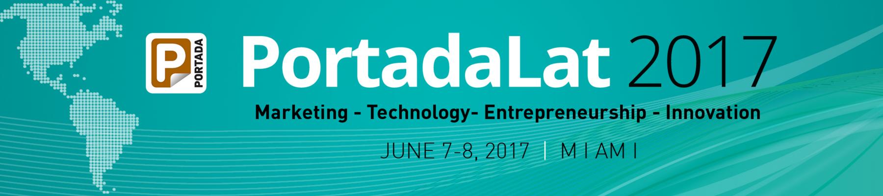 #PortadaLat, June 7-8, Miami