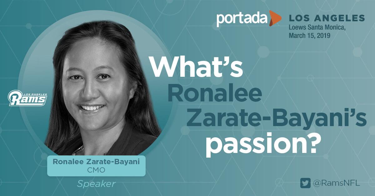 LA Rams CMO Zarate-Bayani, LAFC's Orosco and Univision's Leon Krauze to Discuss the Crucial Role of Hispanic Consumers for Major League Teams at #PortadaLA