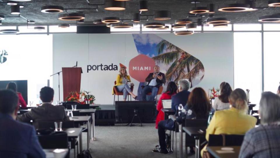 Media, Brands Gather at Portada Miami as Perry Ellis, VISA