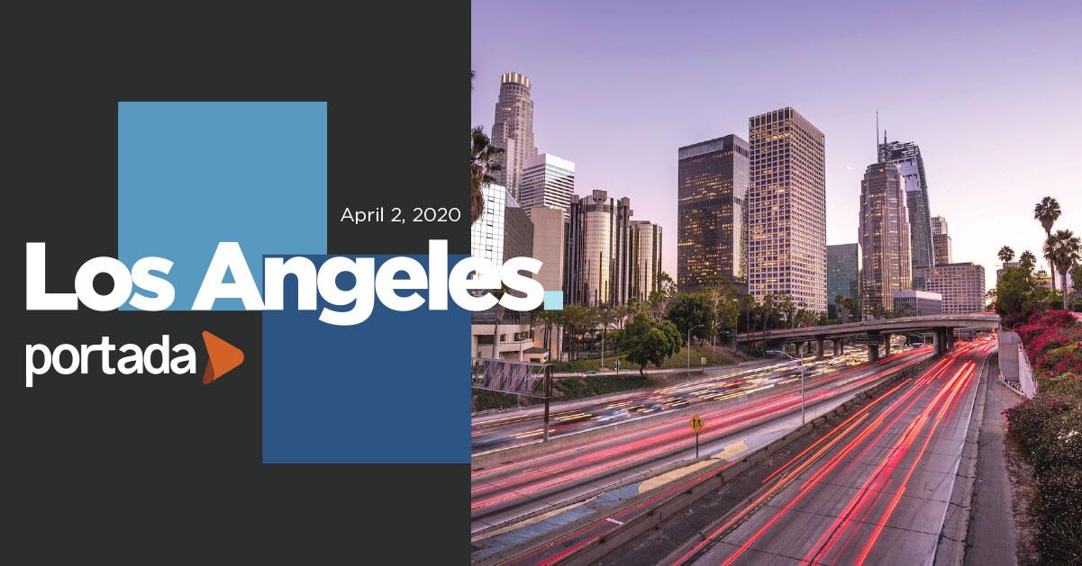 Portada Los Angeles 2020, April 2