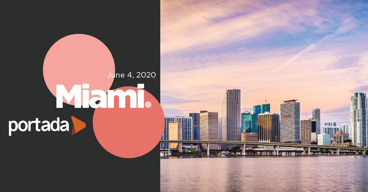 Portada Miami 2020, June 4