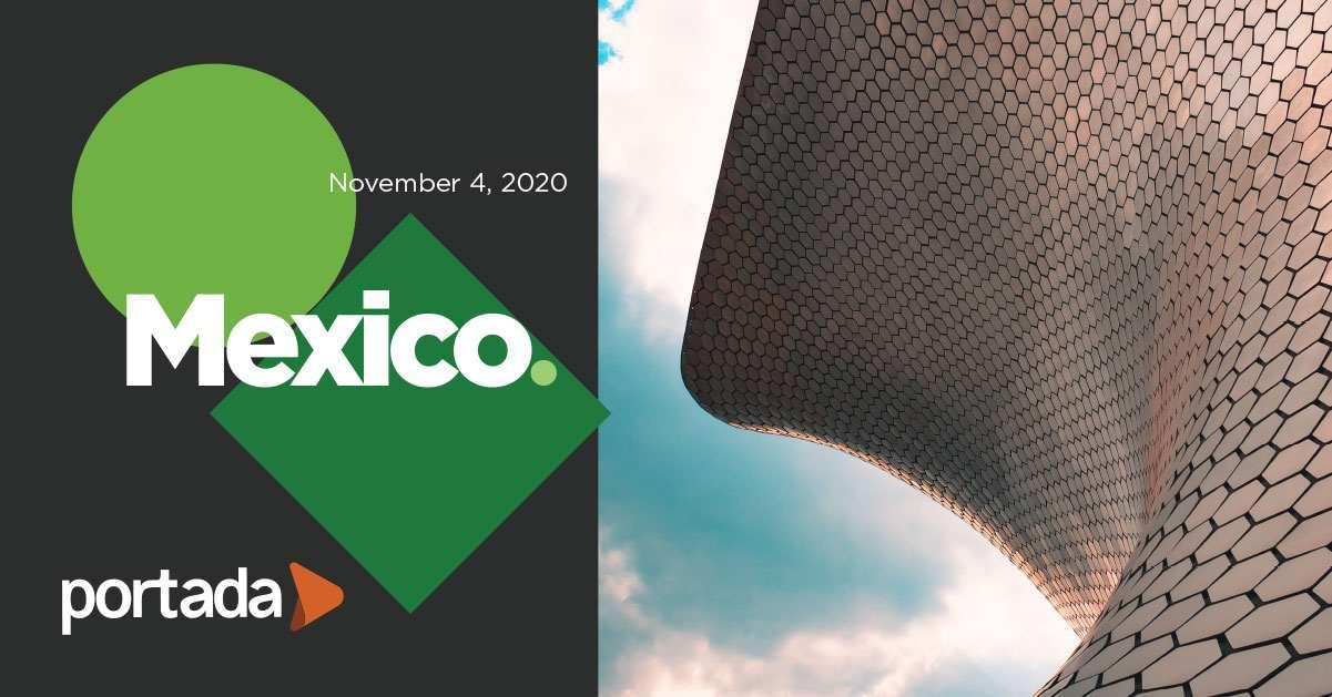 Portada Mexico 2020, November 4